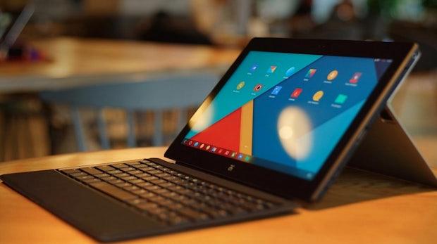Surface-Klon auf Android-Basis: Das Remix Ultra-Tablet