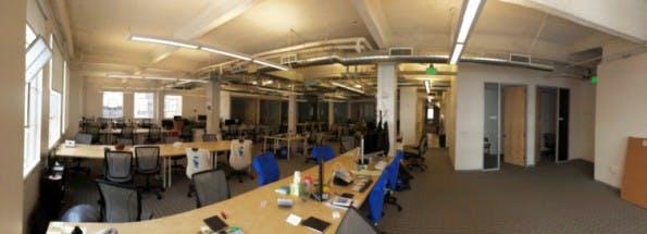 Einblick in die Räume von 500 Startups in San Francisco. (Bild: YogaTrail)