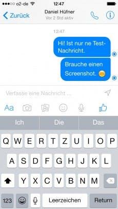 Facebook: Die erzwungene Trennung von Netzwerk- und Messenger-App fühlt sich für Nutzer noch holprig an. (Screenshot: t3n)