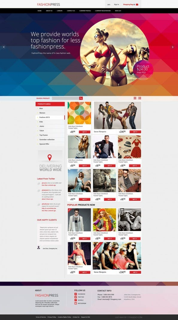 FashionPress_Free_Psd_V2 - Web-Templates