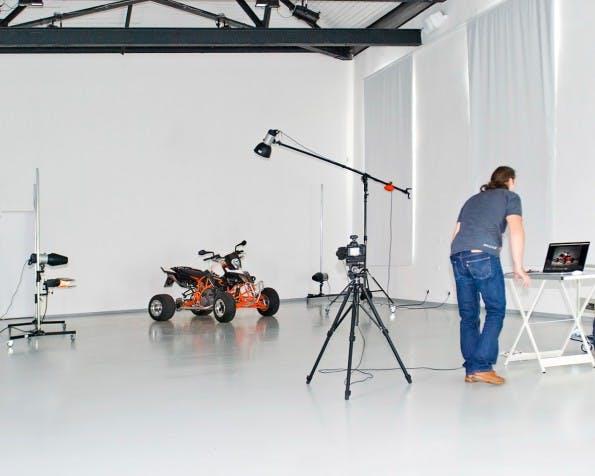 """So könnte dein Set aussehen (Foto: """"MakingOf KTM Quad"""" von Stefan Krause, Germany / wikipedia.de)"""