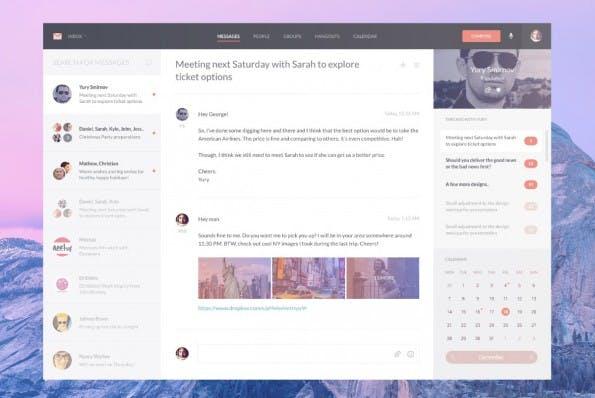 Reimagining Gmail - Web-Templates