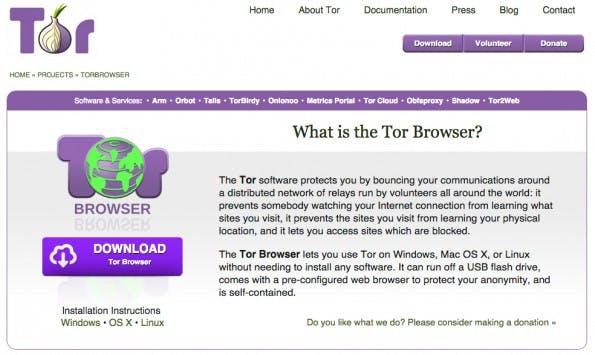 Der Tor-Browser ist nicht das Allheilmittel, wurde von Edward Snowden aber als Browser mit höchstem Anonymitätsanspruch hervorgehoben. (Screenshot: Tor-Project)