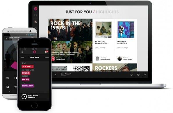 Beats Music: Statt eigenständiger Apps will Apple den Streaming-Dienst tief in seinem Ökosystem verankern. (Foto: Beats Music)