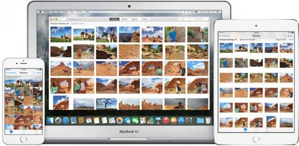 Apple Photos bringt die ausgemusterten Anwendungen um iPhone und Aperture in einer App zusammen. (Foto: Apple)