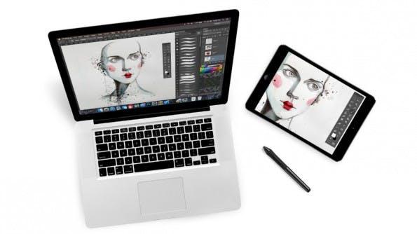 AstroPad will das iPad endlich zum ernstzunehmenden Grafiktablett für Designer und Professionals machen. (Foto: AstroPad)