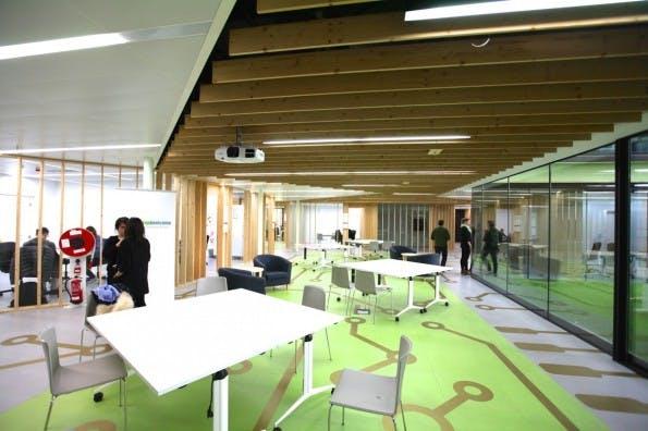 Barcelona lockt Startups – mit Coworking-Spaces und Maker-Zentren. (Foto: Felicitas Hackmann)