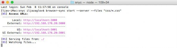BrowserSync