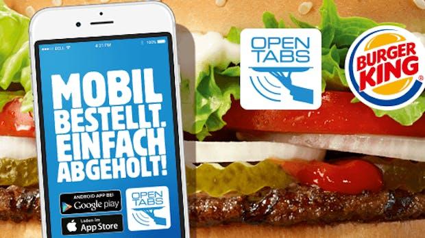 Fast Food per App bei Burger King: Mobile-Payment mit Sinn und Verstand