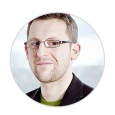 René Maudrich von Fastbill, derzeit 21 Mitarbeiter.
