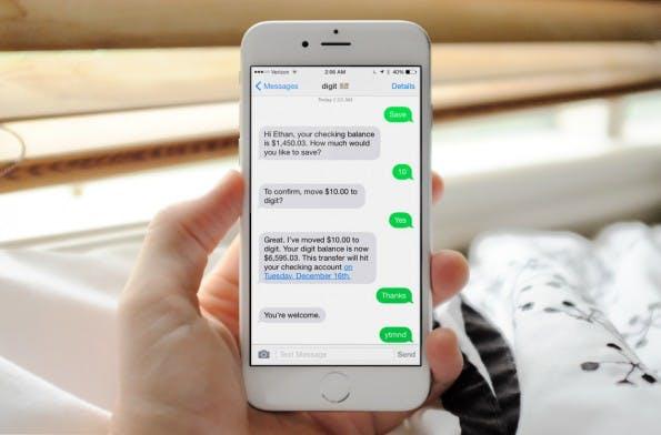 Mit Digit wird das selbstlernende Sparbuch – zumindest in den USA – Realität. (Foto: Digit)