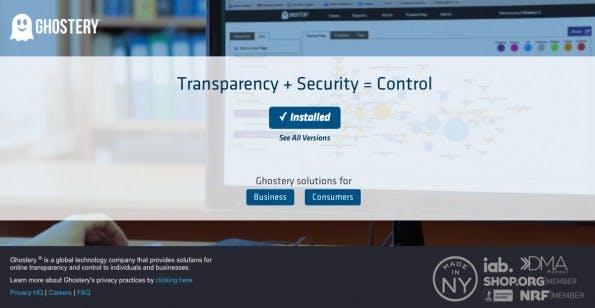 Ghostery verhindert das Tracking im Browser, ist allerdings nicht ganz ohne Kritik. (Screenshot: Ghostery)