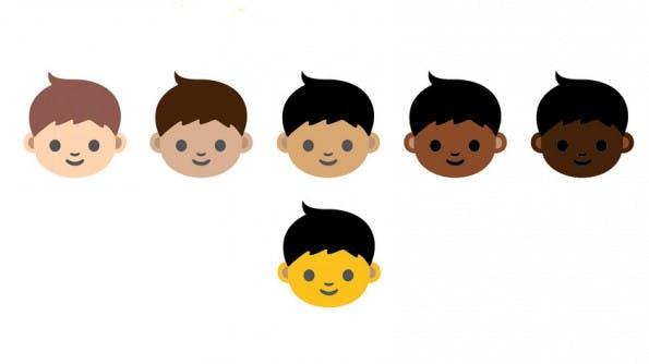 Unicode: Apple macht den Anfang und zeigt Emojis in verschiedenen Hautfarben in den aktuellen Entwicklerversionen ihrer Betriebssysteme OS X und iOS. (Grafik: Unicode)