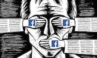 Zensur auf Facebook: Meinungsfreiheit hört da auf, wo das Geschäft bedroht wird [Kolumne]