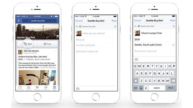 Facebook als Flohmarkt: Social Network stellt neue Verkaufsfunktion für Gruppen vor