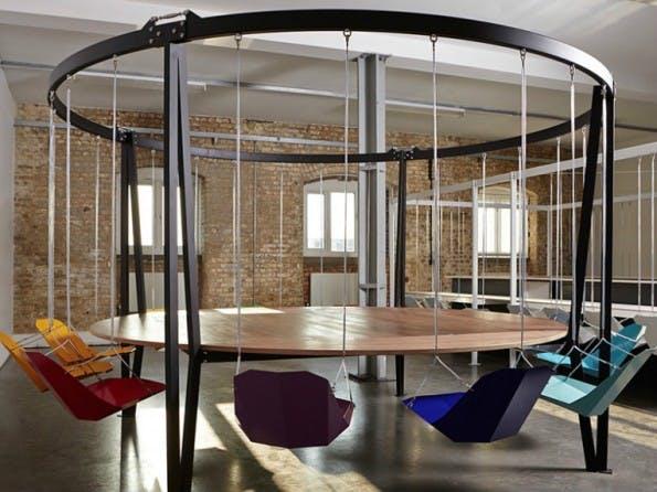 Ein Konferenztisch für kreative Unternehmen. (Bild: Duffy London)