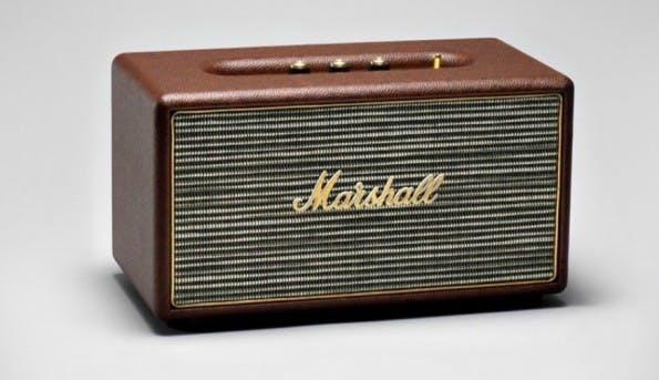 Bluetooth-Box für die eigenen vier Wände: der Marshall Stanmore. (Bild: Marshall)