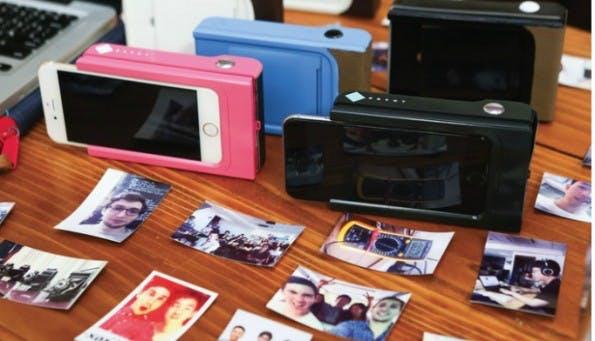 Prynt ist eine Mischung aus Smartphone-Gehäuse und Mini-Drucker. (Bild: Kickstarter / Prynt)