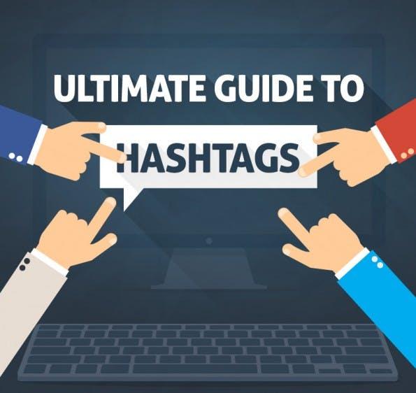 Der ultimatives Guide zum Einsatz von Hashtags. (Infografik: QuickSprout)