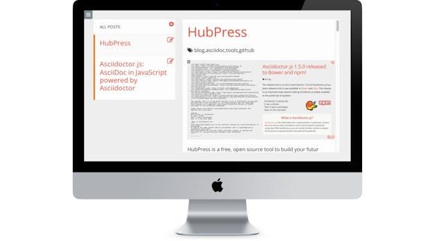 Zum eigenen Blog mit HubPress und GitHub: So geht's