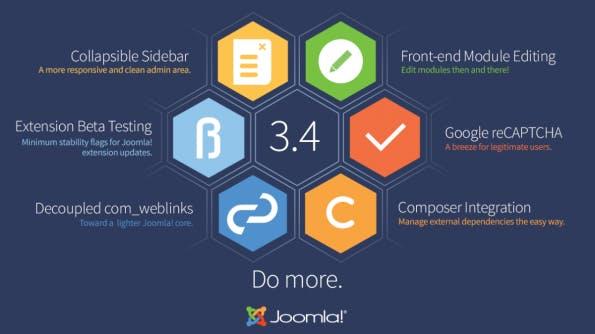 Mit Joomla! 3.4 wurden einige größere Neuerungen eingeführt. Mit 3.4.2 könnt ihr nun auch wieder Erweiterungen aus dem Backend installieren. (Grafik: Chiara)