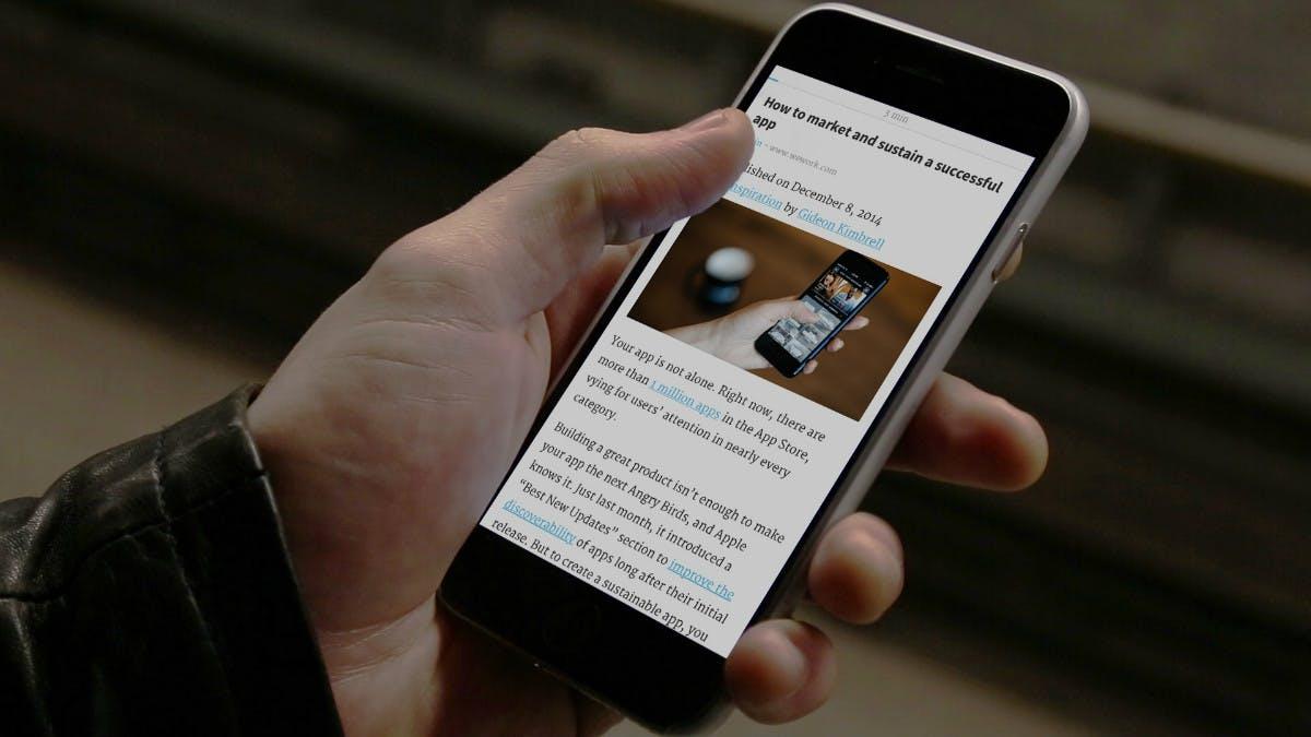 Short: Hier kommt die Reading-App für Leute ohne Zeit