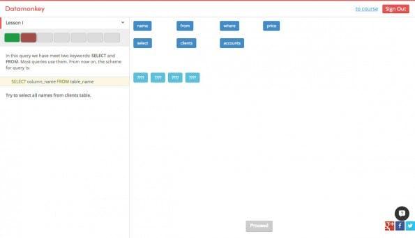 Datamonkey bietet ein schickes Interface. (Screenshot: Datamonkey)