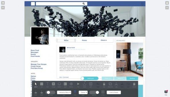 Prototyping-Tool: Mit Weld erstellt ihr in kurzer Zeit klickbare, responsive Prototypen. (Screenshot: Weld.io)