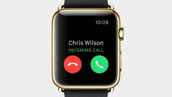 Die Apple Watch kann auch telefonieren. (Screenshot: Apple)