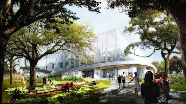 Im Einklang mit der Natur: Das neue Google-Hauptquartier wird gigantisch