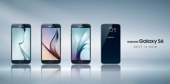 Das neue Samsung Galaxy S6 überrascht vor allem durch die edlere Optik. (Bild: Samsung)