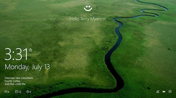 Gesichtserkennung statt Passwort: Microsoft führt neues Feature bei Windows 10 ein