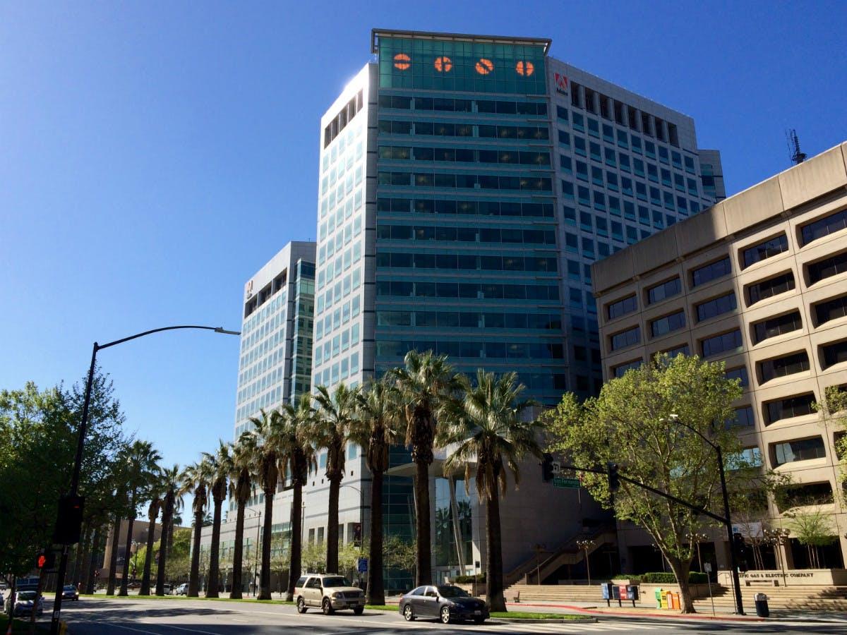 Das Hauptquartier von Adobe in San José. (Foto: t3n)