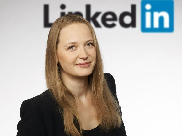 Alexandra Kolleth ist Head of Marketing Solutions DACH bei LinkedIn. (Foto: LinkedIn)