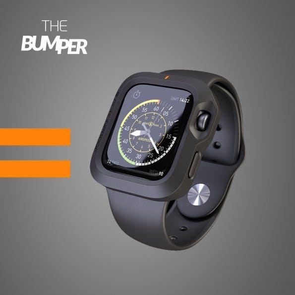 Apple-Watch-Zubehör: The Bumper wird über Indiegogo verkauft. (Grafik: The Bumper)