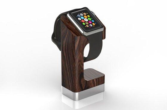 So schick könntet ihr eure Apple Watch aufladen. (Foto: DodoCase)