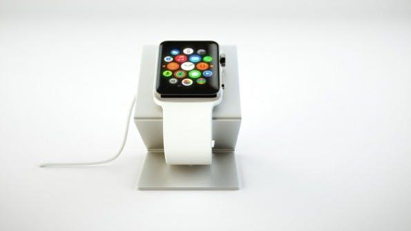 Apple Watch: Diese Ladestation überzeugt durch ihr minimalistisches Design. (Foto: HEDock)
