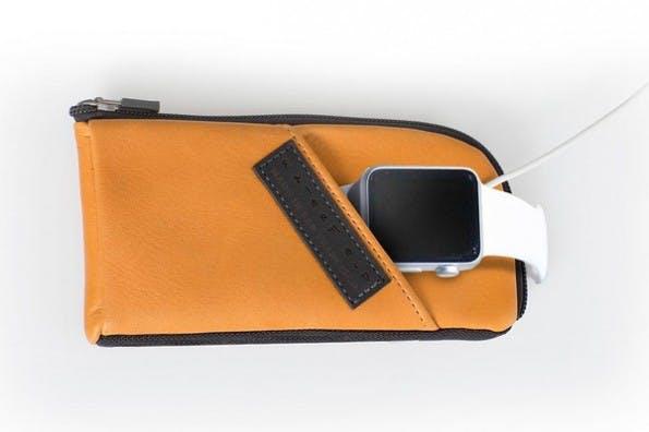 Time Travel Case: Tasche für Apple Watch und Zubehör. (Foto: Waterfield)