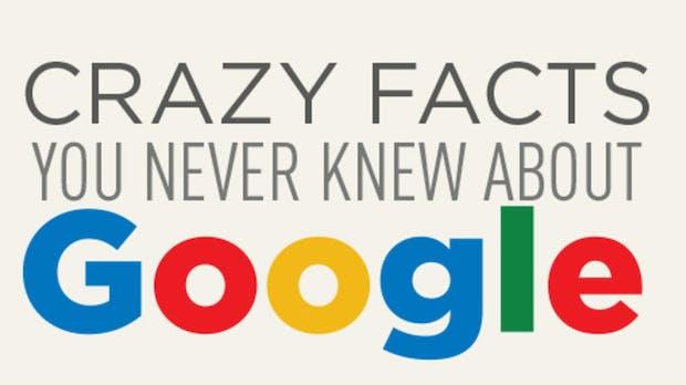 26 verrückte Fakten über Google: Die schräge Seite des Suchgiganten [Infografik]