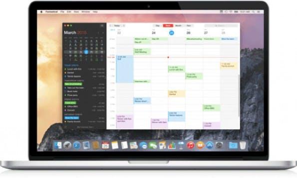 Fantastical 2 für Mac im neuen Gewand. (Screenshot: t3n)