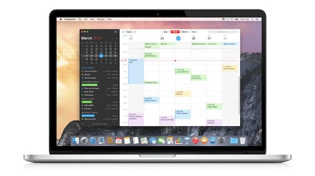 Fantastical, mein Freund und Helfer: Geniale Kalender-App jetzt runderneuert für den Mac