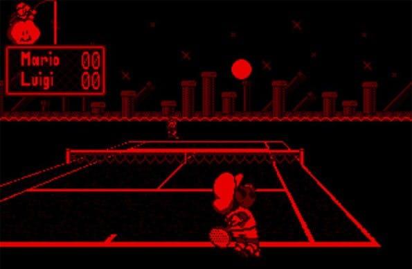 Mario Tennis für den Virtual Boy: Kein Wunder, dass sich die Virtual-Reality-Technologie vor 20 Jahren nicht durchgesetzt hat – im Grunde hatte das Gerät einfach nur zwei monochrome Bildschirme zur Erzeugung eines 3D-Effekts. Eine Bewegungserkennung des Spielers fand nicht statt. (Foto: Nintendo)