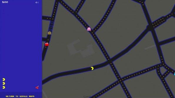 aprilscherz google maps schickt pacman in deinen vorgarten t3n. Black Bedroom Furniture Sets. Home Design Ideas