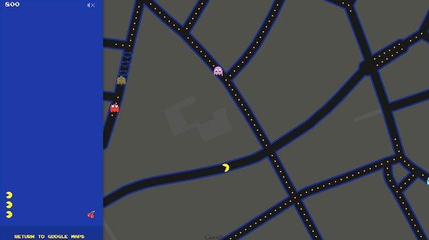 Aprilscherz: Google Maps schickt Pacman in deinen Vorgarten