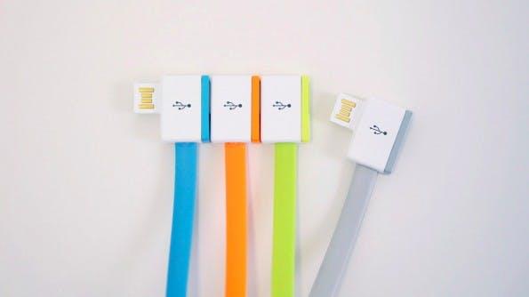 InfiniteUSB ermöglicht den Anschluss mehrerer Geräte an nur einem USB-Anschluss. (Foto: InfiniteUSB)