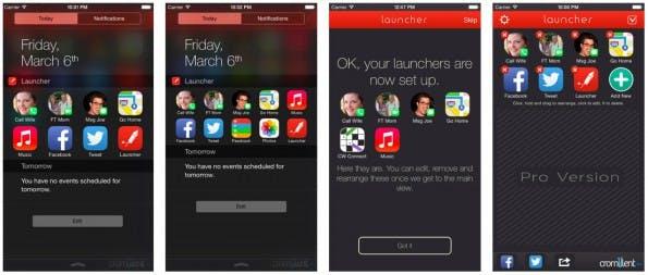 iPhone-App Launcher landet wieder im App-Store. (Screenshot: iTunes)