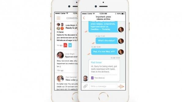 Mailburn macht aus euren E-Mails Chats. (Grafik: Mailburn)