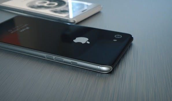 Auch dieses iPhone-Konzept ist spannend. (Grafik: Steel Drake)