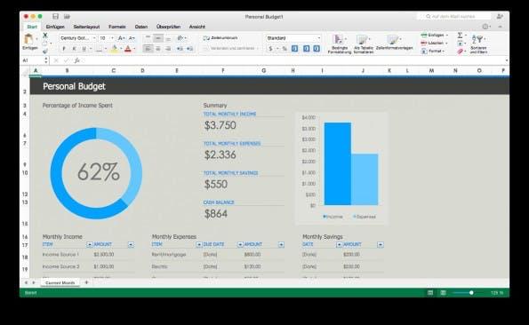 Office 2016: Microsoft veröffentlicht erste Testversionen von Word, Excel, Outlook, PowerPoint und OneNote. (Screenshot: Office 2016 for Mac)