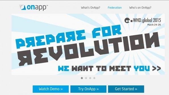 (Screenshot: onapp.com)